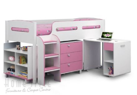 Kimbo Cabin Bed Pink